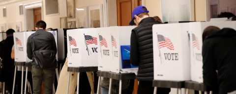 First precincts close on midterm election day with massive turnout