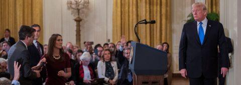 CNN denuncia a Trump por vetar el acceso a la Casa Blanca a su corresponsal