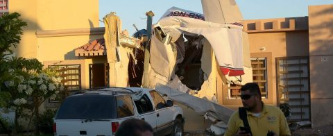 At least 4 dead after plane falls on house in northwestern Mexico
