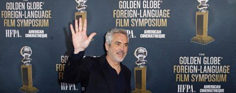 """El mexicano Alfonso Cuarón gana el Globo de Oro al mejor director por """"Roma"""""""