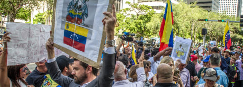 Venezuelan envoy rejects military intervention, US senators call for TPS