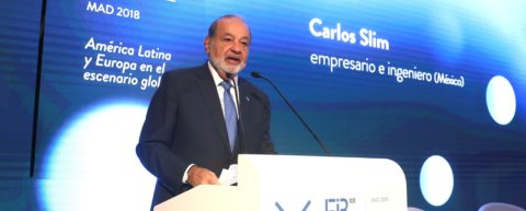 Billionaire Slim plans to retire during my term, Mexico's president says