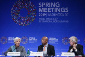 IMF ends biannual meetings without consensus on recognizing
