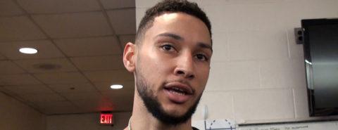 145-123. Simmons aporta triple-doble y Sixers empatan serie ante Nets