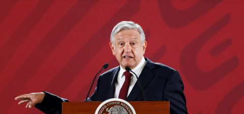 AMLO says his focus is on transforming Mexico, not protests