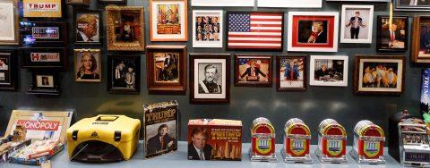 Trump's world revealed in Andres Serrano exhibit