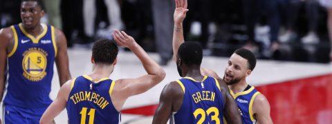 99-110. Green y los Splash Brothers ponen a los Warriors a un triunfo de las Finales