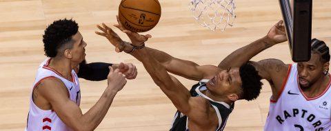 118-112: Los Raptors sufren para ganar a los Bucks y colocar un 1-2 en la serie