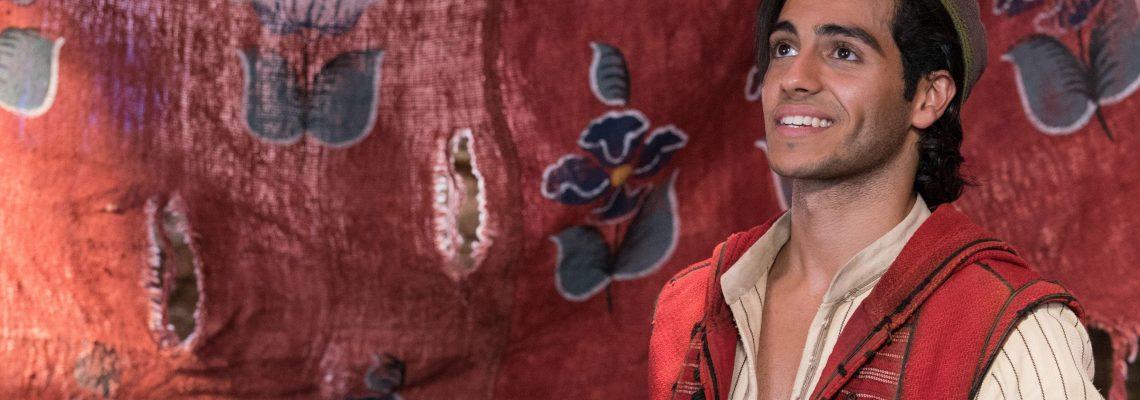 "Watching ""Aladdin"" as a boy, Mena Massoud saw himself reflected on the screen"