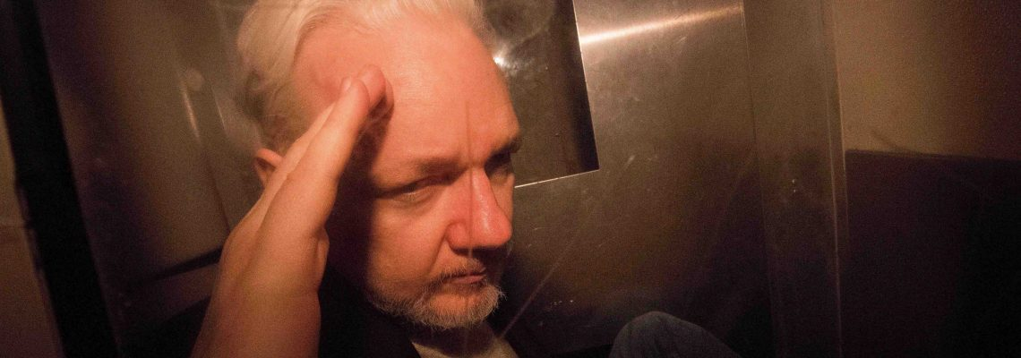 US charges Julian Assange with espionage