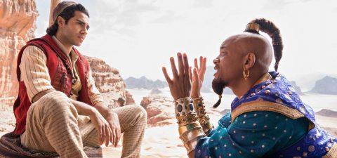 """Aladdin"" vuela alto en la taquilla nacional"