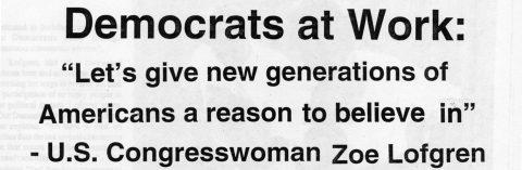Democrats at Work: