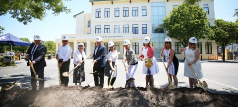 Notre Dame High School breaks ground
