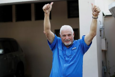 Panamanian court orders release of jailed ex-President Martinelli