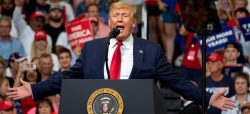 Trump se aferra a su mensaje de 2016 al iniciar su campaña de reelección