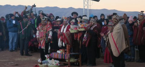 Bolivia marks winter solstice with nationwide celebrations