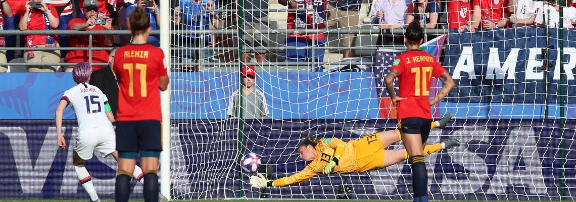 Dos penaltis dejan a España fuera del Mundial tras plantar cara a EEUU