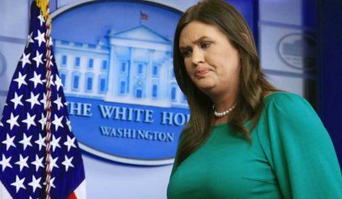 Trump anuncia la renuncia de Sarah Sanders