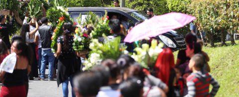 Father, daughter who drowned in Rio Grande buried in El Salvador