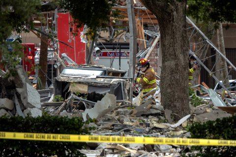 21 heridos deja una explosión en centro comercial del sur de Florida