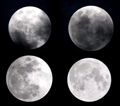 Exposición de fotografías de la Luna tomadas a lo largo de un siglo
