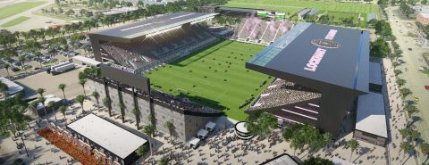 David Beckham's Inter Miami reaches deal for temporary home stadium