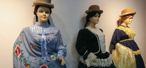 Traditional dress of Bolivia's Aymara women is more in style than ever