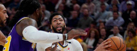 Davis con LeBron convencido de que los Lakers ganarán