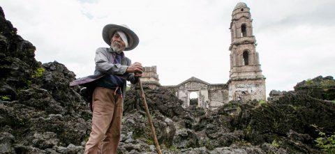 San Juan Parangaricutiro, Pompeya mexicana sepultada por el Paricutín