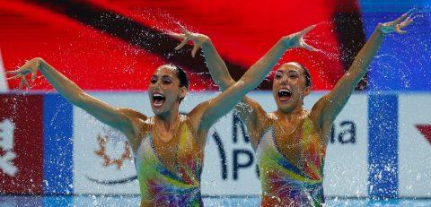 Mexicanas a la final de dúo libre en el Mundial de Gwangju