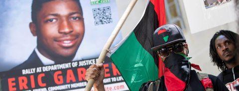 EE.UU. rechaza presentar cargos contra un policía por la muerte de Garner