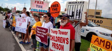 """AI insta a cerrar centro """"cruel e ilegal"""" de niños migrantes"""