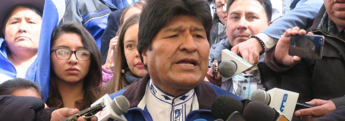 Evo Morales presenta plan de gobierno en vista a la  reelección