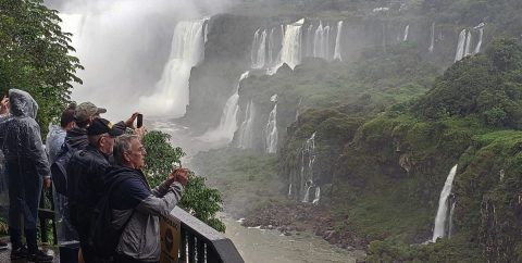 Iguaçu, 1.300 kilómetros de paraíso salvaje escondido