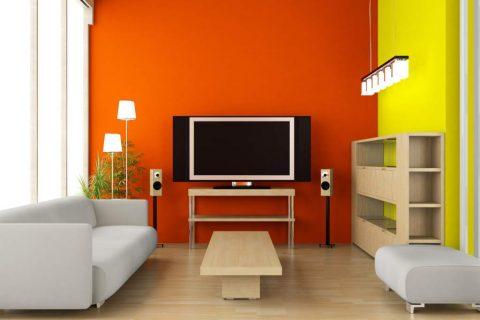 Colores alegres y optimistas en casa