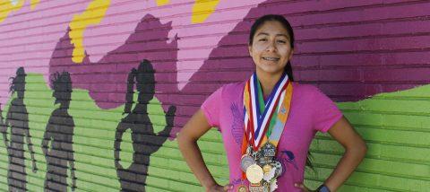 Valedictorian runner