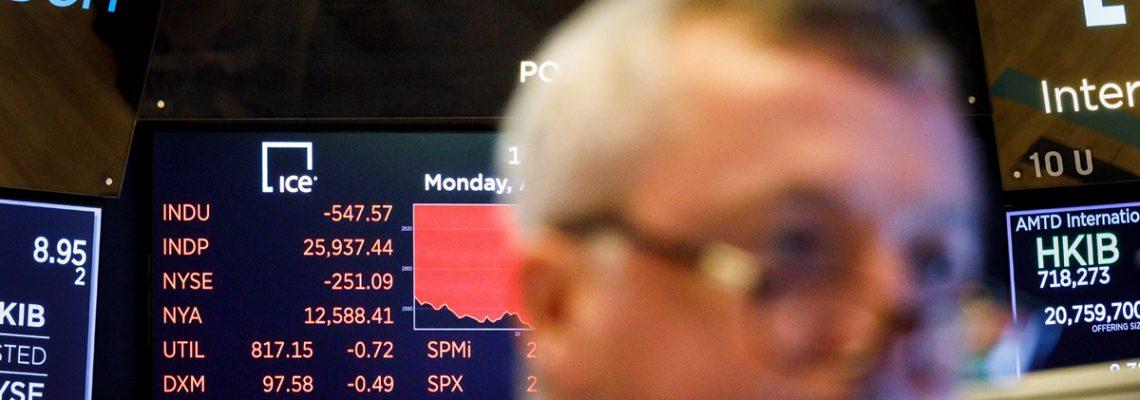 Wall Street cierra con las mayores pérdidas del año