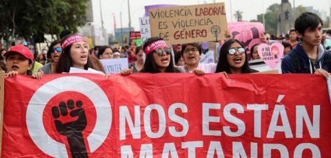 """Perú alista marcha """"Ni una Menos"""" con la mayor cifra histórica de feminicidios"""