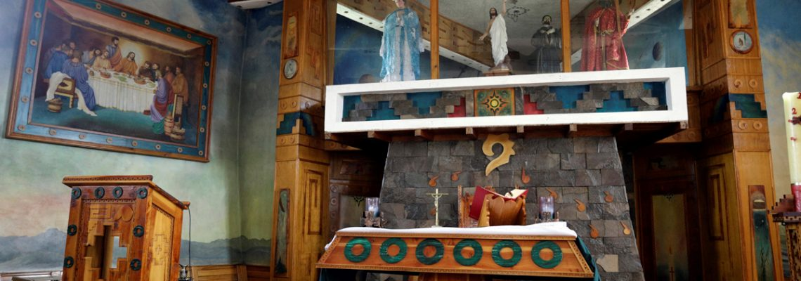 La Barca de la Fe, la unión de dos culturas en el centro de México