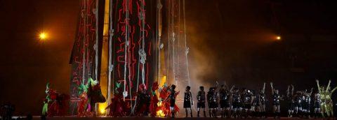 La Amazonía se hace presente en la inauguración de los Juegos Parapanamericanos
