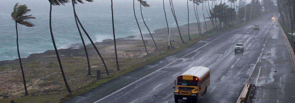 Dorian se fortalece y amenaza como huracán a P.Rico y R.Dominicana