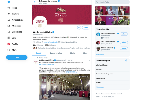 México alerta de ataques cibernéticos contra redes sociales del Estado