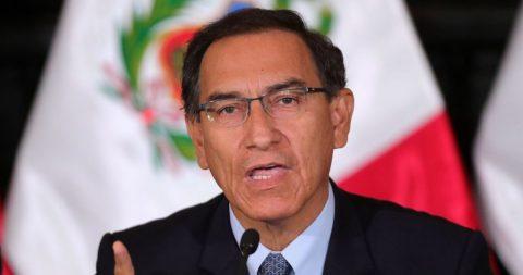 Vizcarra: Un adelanto electoral es la única salida a la crisis política peruana