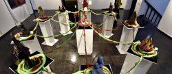 """Las ofrendas y los ritos para la """"Pachamama"""" inspiran a artistas bolivianos"""