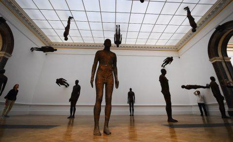El cuerpo humano centra una ambiciosa muestra de Gormley en la Royal Academy de Londres