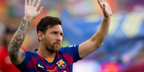 """Messi gana el """"The Best"""" a mejor jugador del año"""