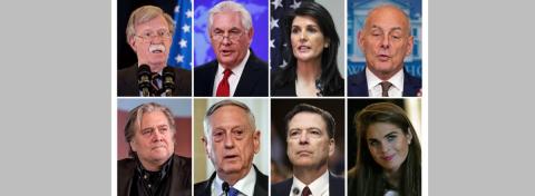 """""""¡Estás despedido!"""". Las seis salidas más polémicas del Gobierno de Trump"""