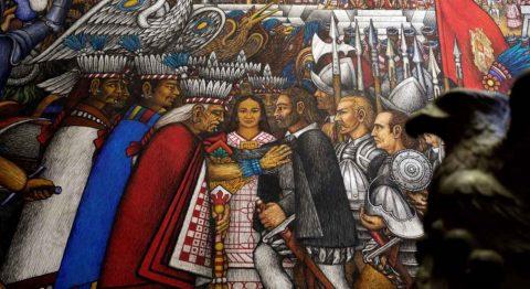 Piden revisión histórica del pacto de españoles y tlaxcaltecas contra mexicas