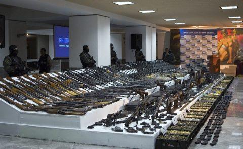 Dos millones de armas en 10 años, el trágico tráfico ilegal de EE.UU a México