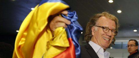 El violinista André Rieu vive el turísmo de Bogotá previo a sus conciertos